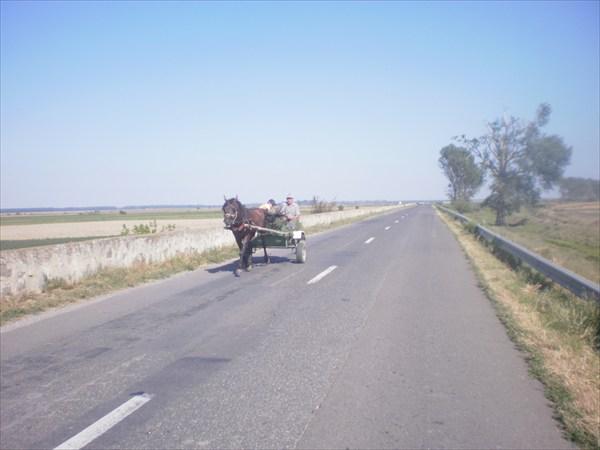 Румынская повозка
