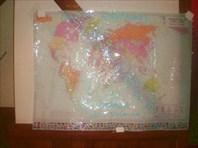 Карта путешествий капитана