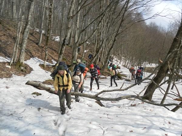 Последний снег в этом походе
