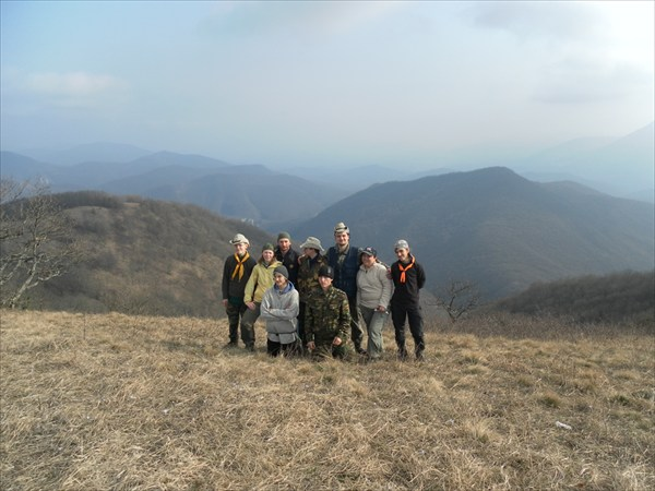 На горе Казачьей