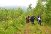 Перевал через хр. М.Хинган