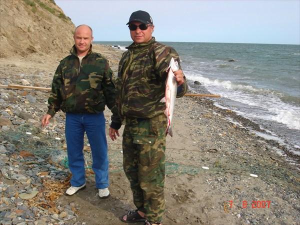 Рыбалка за горой Мария