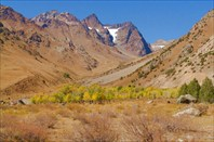 Дорога на Ойгаинг - ледник Аютор