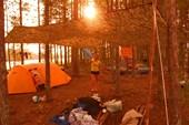 Лагерь, о.Банный