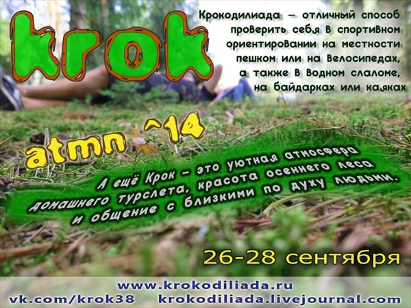 на фото:Krok2014