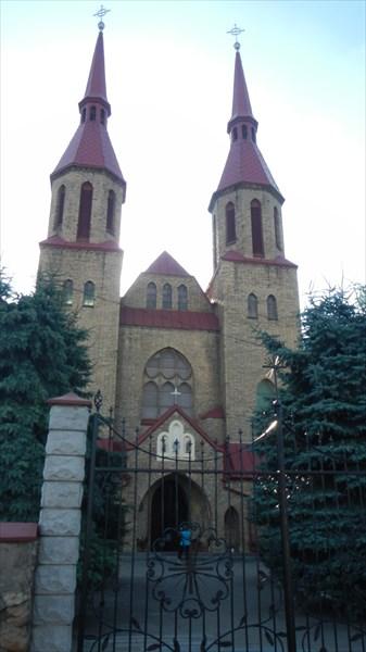 Зельва. Костел св.Троицы