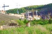 111 Богучанская ГЭС (с другой стороны)