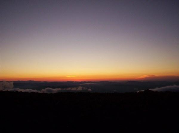 Закат на Сарлыке. Взгляд на запад