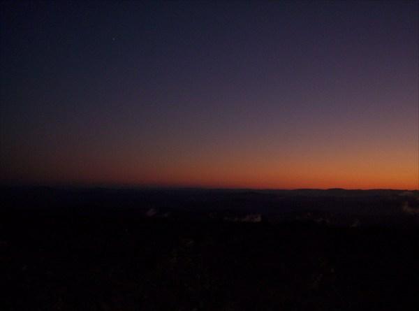 Закат на Сарлыке