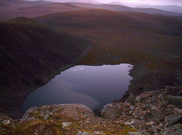 Четвертое Туюкское озеро на рассвете