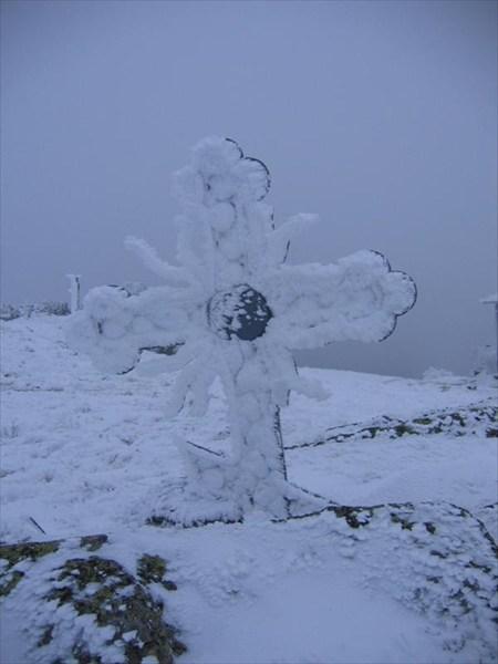 на фото: Да хранит Бог эту метеостанцию...