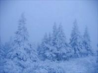 В октябре здесь уже зима!