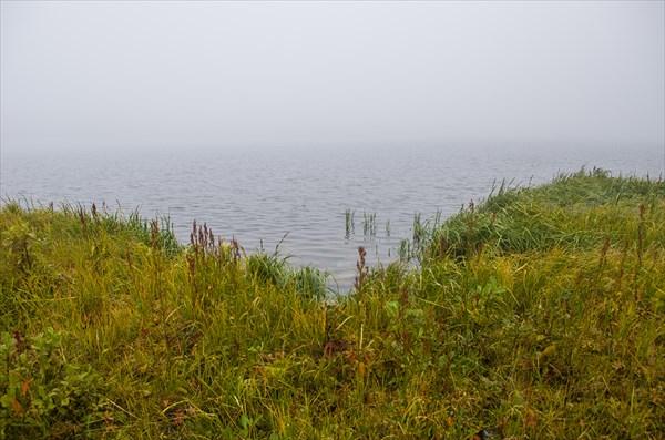 Монта-Лор в тумане