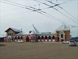 Ж/д вокзал в Благовещенске