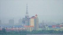 Город Хэйхэ в утреннем тумане