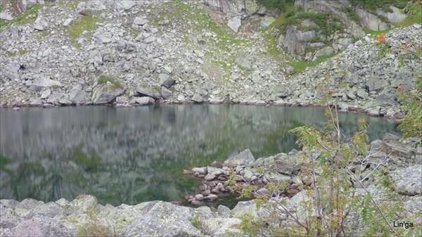 Хр. Метугул-Тайга, цирк пика Туманный.Верхнее озеро