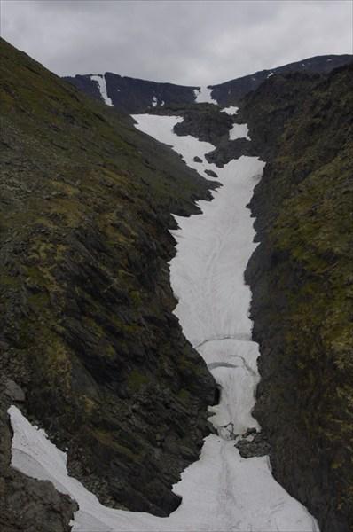 Истоки ручья Бурный