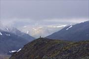 Вид с вершины г. Ханмей на запад.