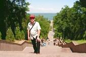 Каменная лестница купца Депальдо в Таганроге