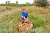 Верхнепалеолитическая стоянка `Третий мыс`