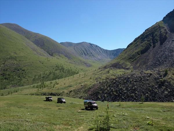 На перевал Мурхойский