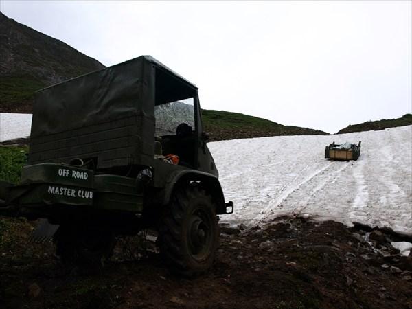Подъем на перевал Мустаг-Дабан
