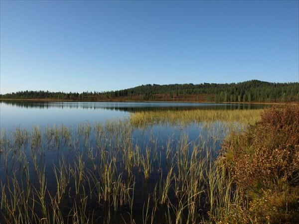 Озеро с хариусами