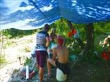 В лагере на П1