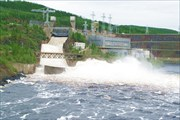 Плотина Вилюйской ГЭС