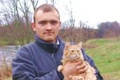 Митрич с кошкой
