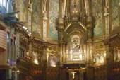 В храме Черной Мадонны в монастыре Монтсеррат