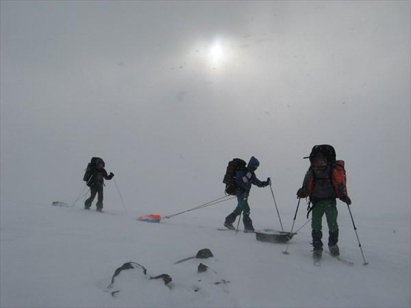 Перевал Ревда. Фото Никиты Насыпайко.