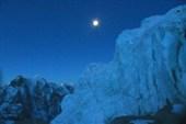 Подход к леднику перед вершиной Айленд Пик