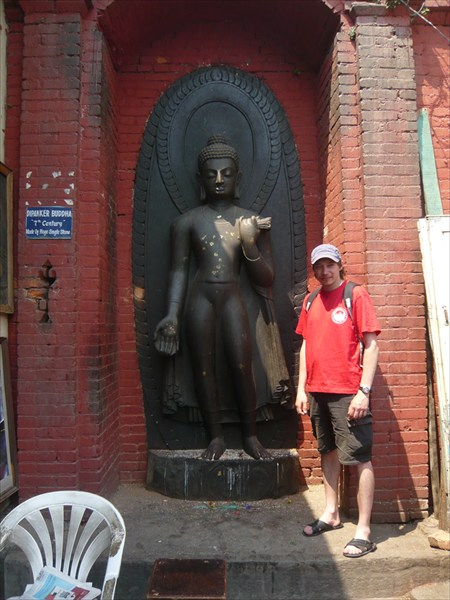 Статую Будды из единого камня, 7 век