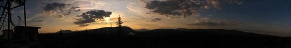 Закат в Харпе