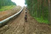 Вдоль газопровода