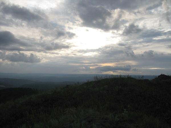 Закат с Апшакая