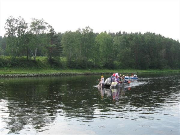 Водные туристы