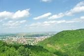 Вид с крепости на Шумен