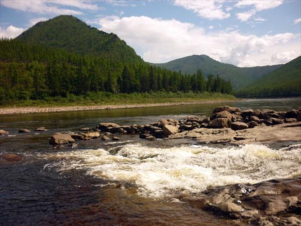 Впадение реки Эгидэ