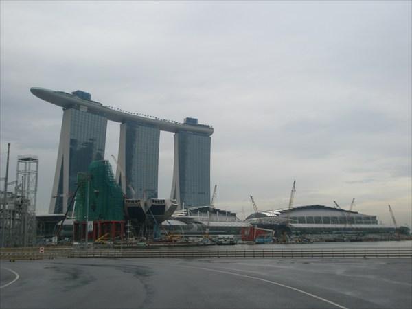Сингапур. Отель-казино Marina Bay Sands