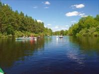 Байдарочный поход по реке Пра