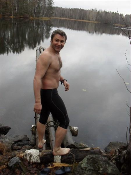 Добриков Алексей в воде не горит и в воде не тонет!