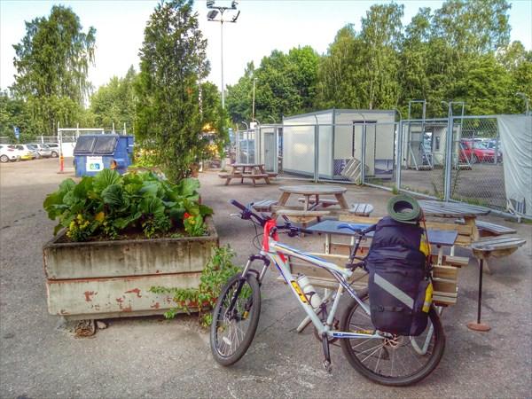 Хельсинки. Выезд из хостела