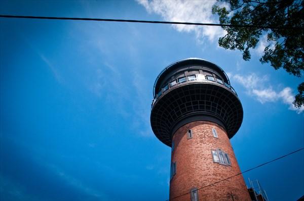 Бывшая водонапорная башня Зеленоградска
