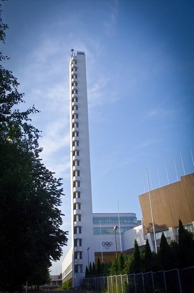 Хельсинки. Башня олимпийского стадиона
