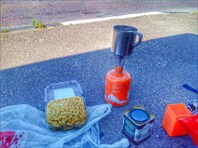 Чаепитие на дороге. Недалеко от Таллина