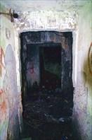 Внутри основания башни.