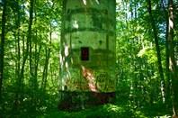 Бетонная башня НП с дальномером