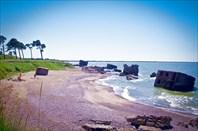 Кому остатки крепости, а кому и пляж :)